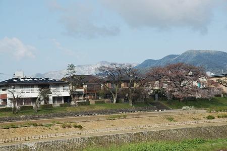 愛宕山は真っ白