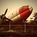 写真: 用事が済んだので航空公園を散策。なかなか良い感じ。