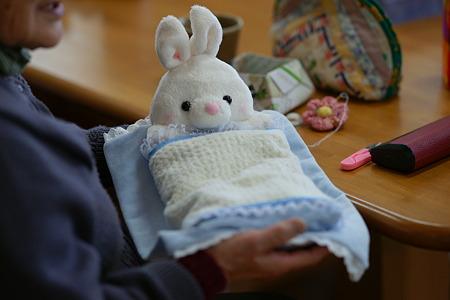 ウサギのまくら