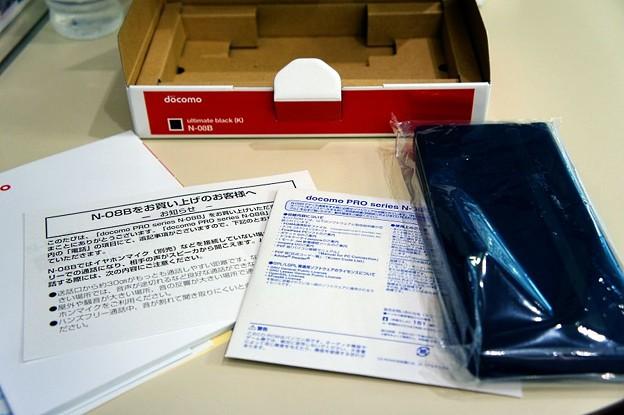 Photos: docomo PRO series N-08B 開封:03