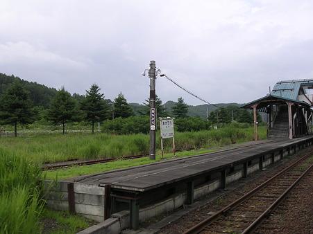 赤平駅ホーム2