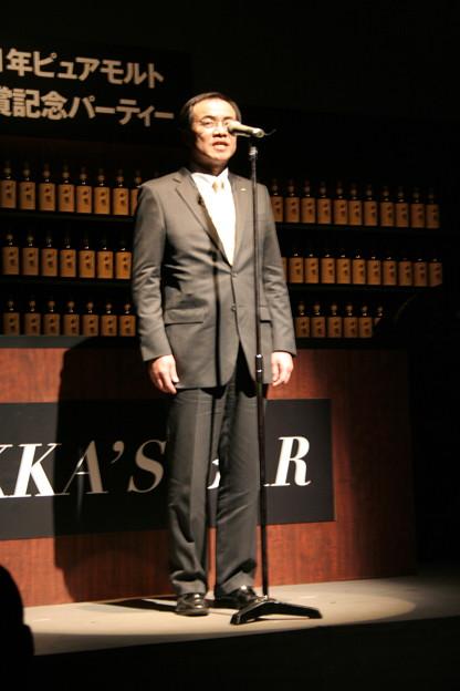 写真: チーフブレンダー 久光哲司氏