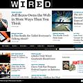 写真: Wired.comトップページ