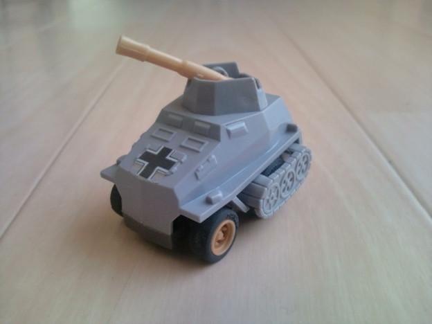 コンバットチョロQ C-07 デマーク(対戦車砲タイプ)