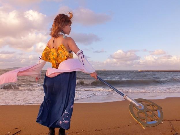 写真: 海と