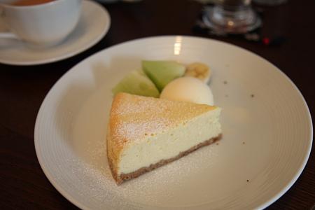 ベイクド・チーズケーキ