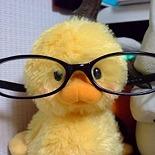 恥ずかしがりやな眼鏡
