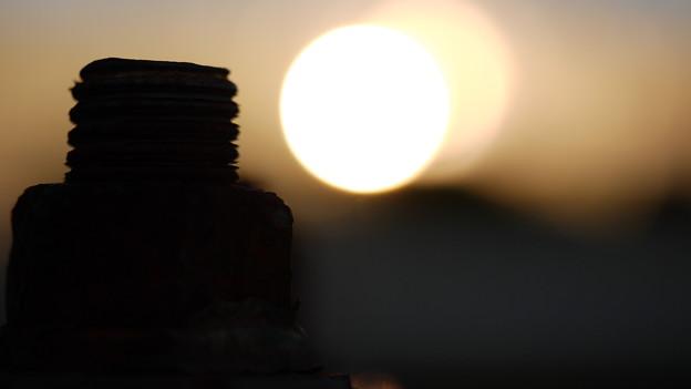 ネジビルの夕日