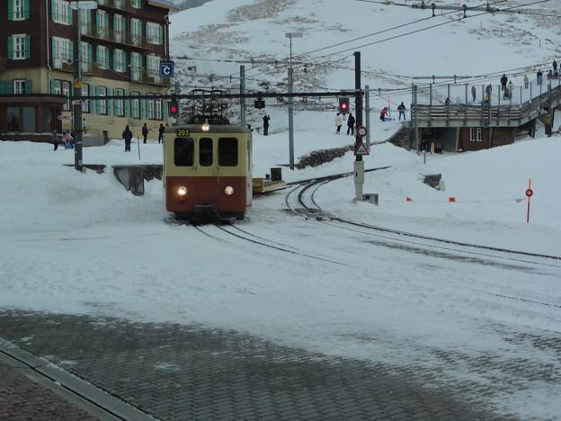 ユングフラウヨッホ途中駅 Kleine Scheidegg