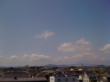 ホテルの窓から@菊川