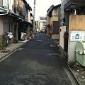 Photos: 。。。にしても、この付近の道は狭いですね~(^^;; 流石、西陣地域と言...