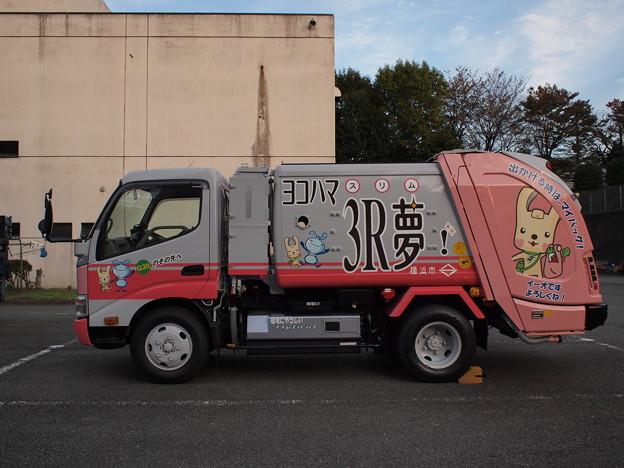 番外編・ラッピング収集車(左側面)