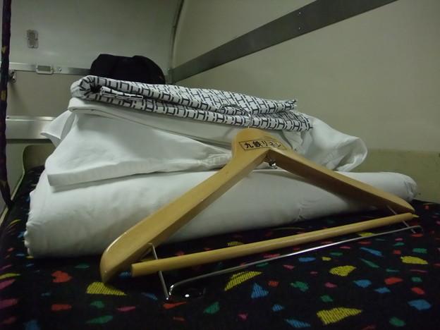 Photos: 寝台特急 はやぶさ B寝台上段
