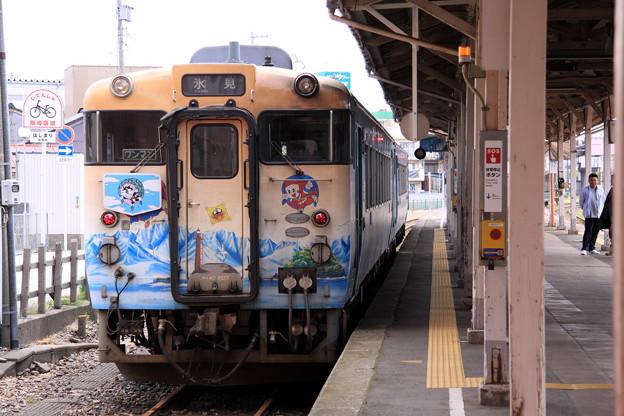 Photos: 高岡駅 氷見線 忍者ハットリ君列車
