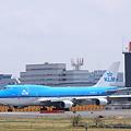 Narita International Airport KLM KL862