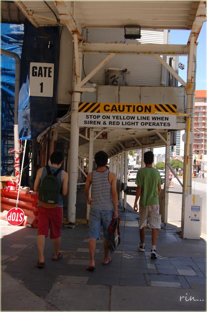 Caution・・・。