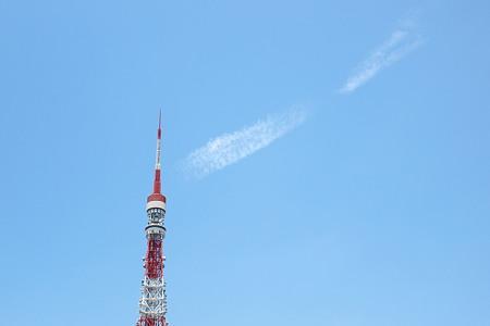 東京タワーが休憩中