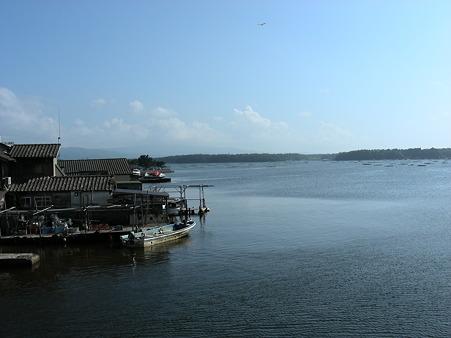 加茂湖の風景(2)