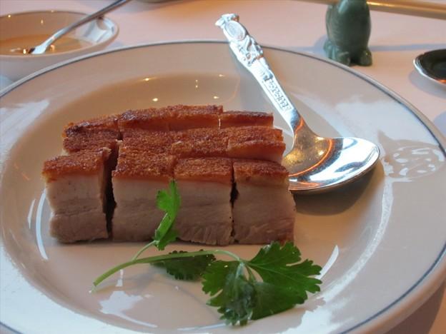 2010/07/19 「欣圖軒」にて「脆皮燒腩肉」