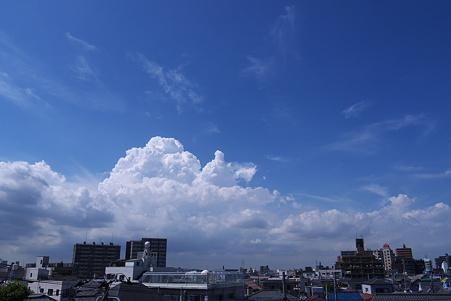 入道雲の季節