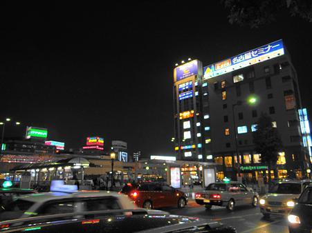 名古屋:金山駅夜景