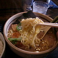 Photos: らぁめん道場 黒帯 醤油ラーメン 麺