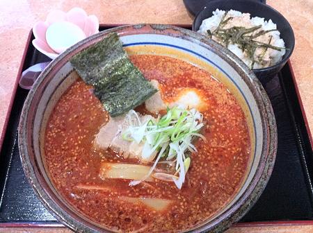 めん太 辛味噌ラーメン+チャーシュー丼