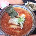 写真: めん太 辛味噌ラーメン+チャーシュー丼