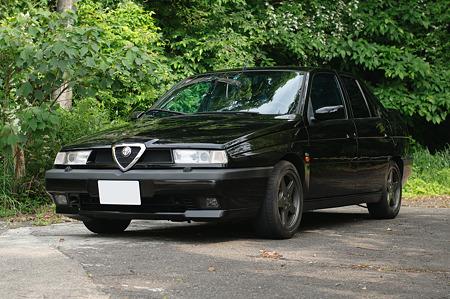 Alfa 155フロント@50/1.8G f4