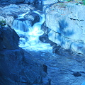 Coos Canyon in Blue