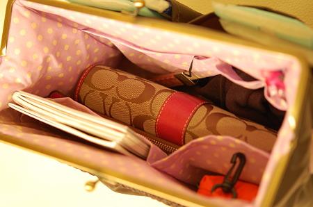 かばんの整理