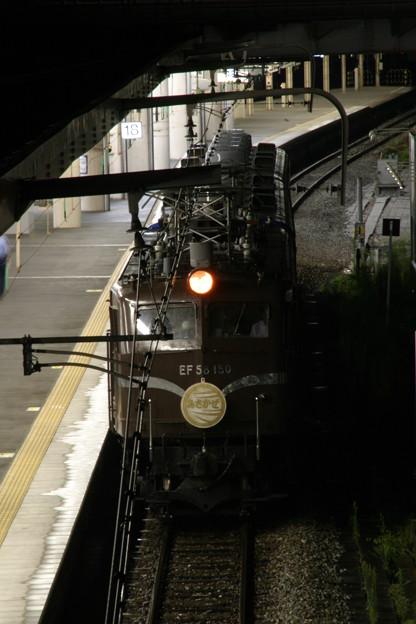 EF58-150 映画ロケ列車