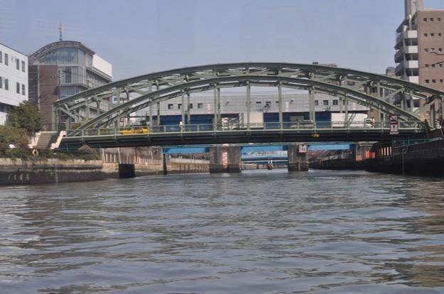 Tokyo水辺エコツアー@隅田川から見た小名木川の萬年橋_DSC_5753