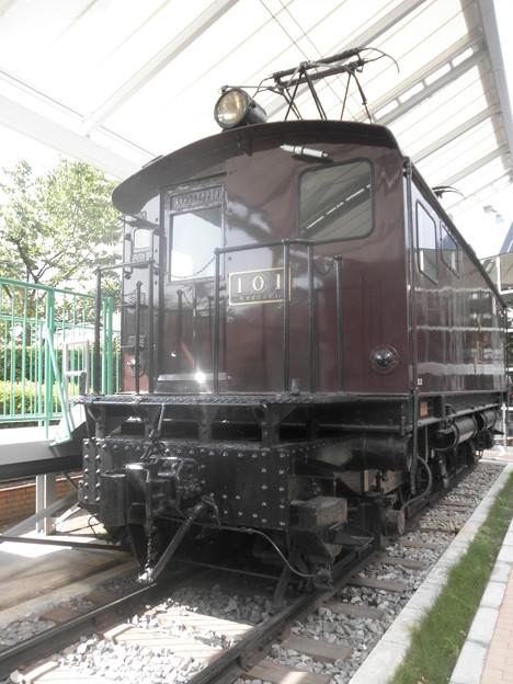 東武鉄道ED101形101号@東武博物館_P8252541