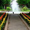 噴水のある公園~
