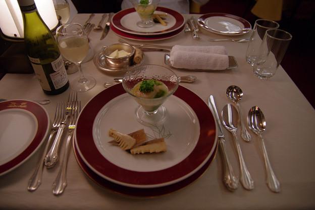 s7117_トワイライトエクスプレス食堂車_フランス料理1