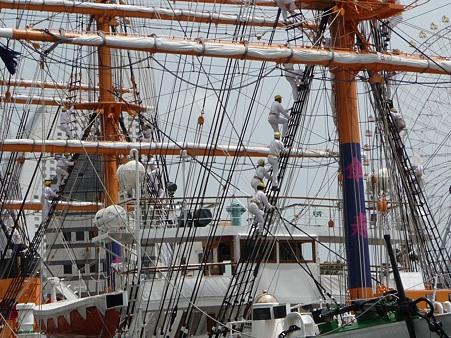 100429-日本丸 総帆展帆-22
