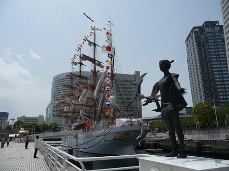 100429-日本丸 総帆展帆-97