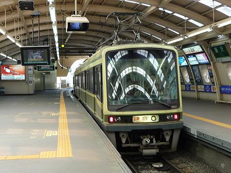 101210-江ノ電 藤沢駅 (1)