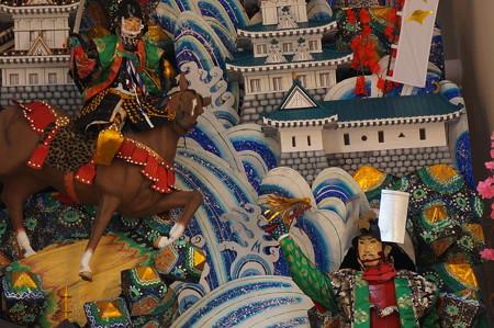 04 2014年 博多祇園山笠 飾り山笠 賤ヶ岳之戦壽 中洲流 (6)