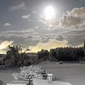 Photos: 満月の雪の夜