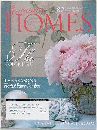 Romantic Homes 2008 mar
