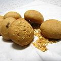 写真: 頂いたクッキー