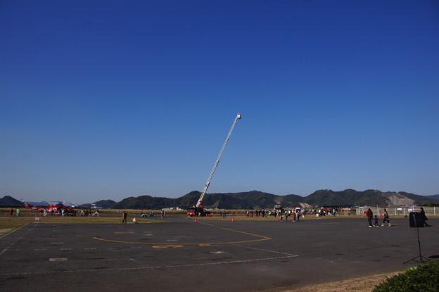 岡山県、笠岡市合同防災訓練 (13)