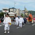 照片: 葵祭 行列 北大路橋