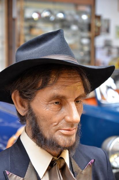 エイブラハム・リンカーン(の、ろう人形)