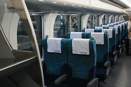 名鉄2000系 ミュースカイ 車内 IMG_0188