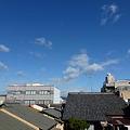 写真: 11月21日の空