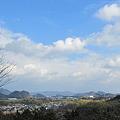 Photos: 栗東の町(自然観察の森より)