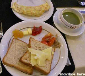 ホテル・スイスの朝食